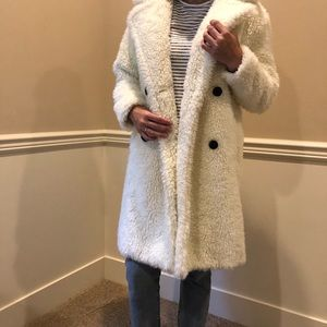 Abercrombie & Fitch Teddy Coat